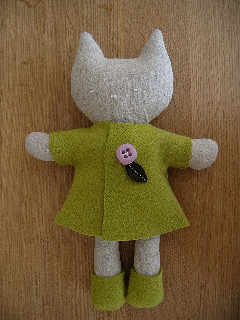 Wee wonderful kitty pattern, by Catarina M :: Flickr