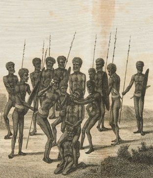 Aborigines in New South Wales in the 1790s