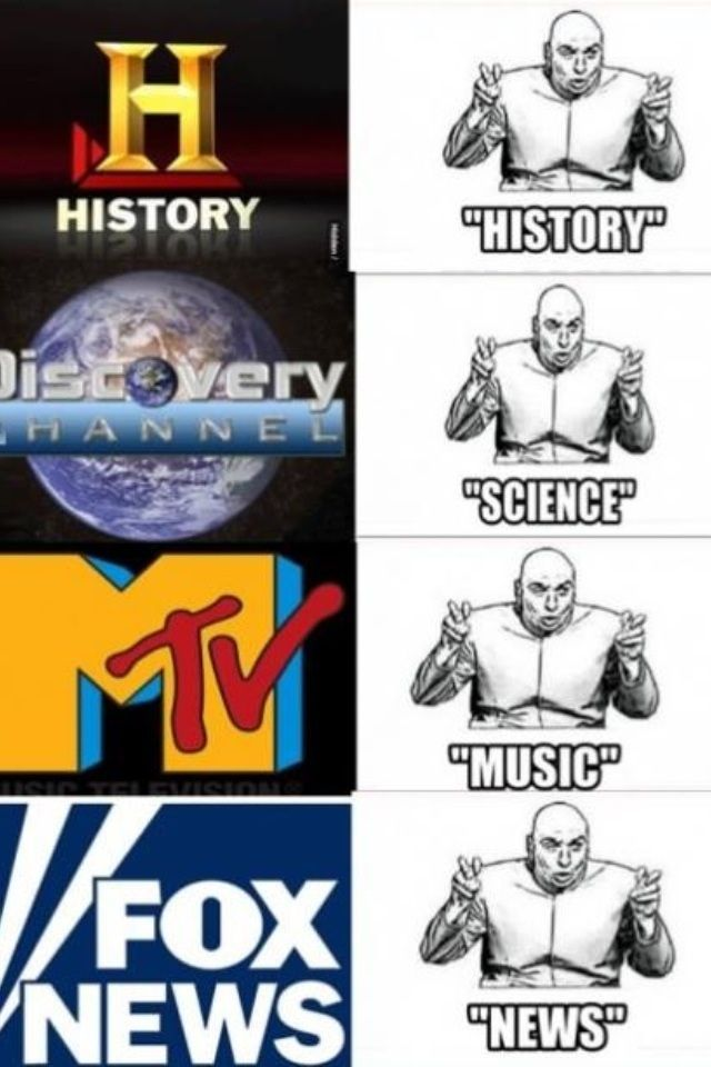 f863c43f4076ffbc8ae342a02ed0a433 dr evil tv channels 128 best tv images on pinterest funny caption pictures, funny,History Channel Funny Memes