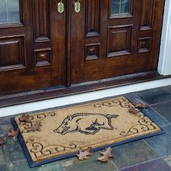 Arkansas Razorbacks Door Mat - BiggSports.com