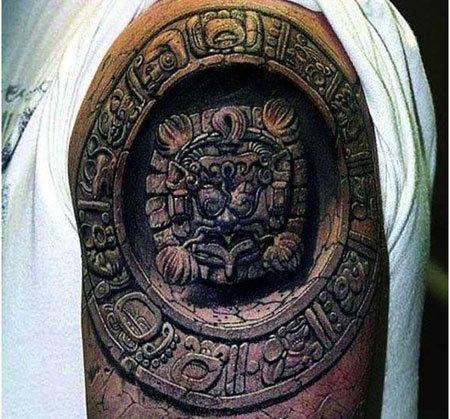 10 Ancient Mayan Tattoo Designs
