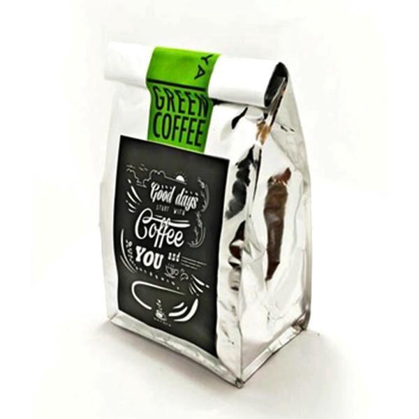 Jenis : Bubuk Halus  Rasa : Sedikit Pahit  Aroma : Tanpa Aroma Kopi   Kopi Hijau (Green Bean) Robusta yang diproses tanpa di sangrai sehingga asam klorogenat yang bermanfaat untuk pembakaran lemak dan juga memperlambat pembentukan lemak tidak hilang, selain itu tanpa proses sangrai/pangang kadar kafein yg ada di biji kecil 20mg per porsi bandingkan dengan secangkir kopi normal melebihi 100mg   Manfaat kopi ini yang paling populer untuk diet berat badan dan detoksifikasi mulai terkenal sejak…