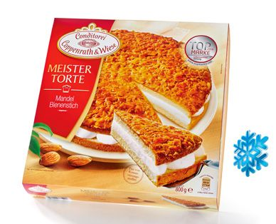 Conditorei Coppenrath & Wiese Meistertorte. available at ALDI in Germany only.