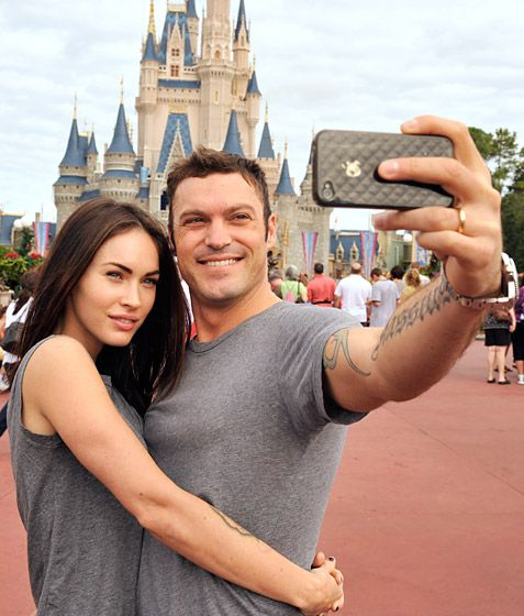 Megan Fox and Brian Austin Green: hottest stars in their casual selves