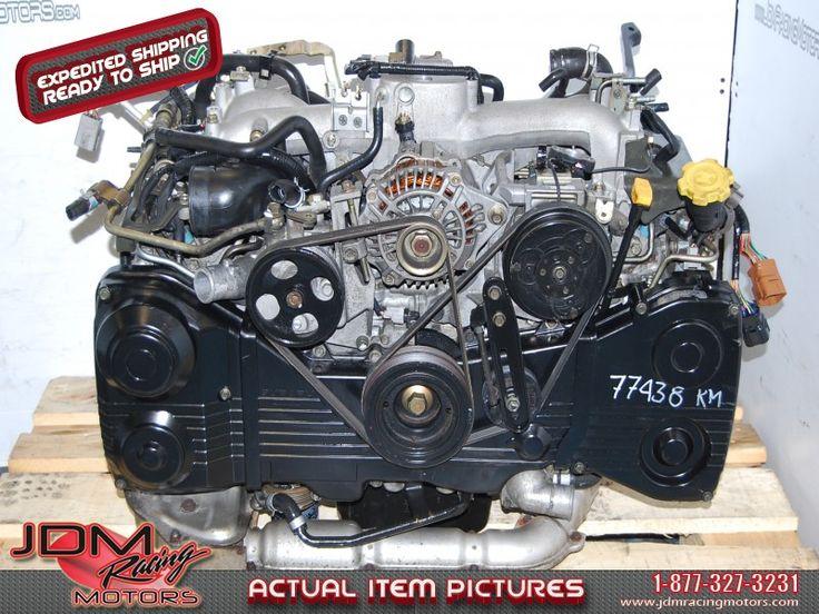 Subaru WRX 2002-2005 EJ205 2.0L DOHC Motor.  Find this item on our website: http://www.jdmracingmotors.com/engine_details/1829  Tags: #JDM, #Subaru, #Impreza, #WRX, #STi, #2002, #2003, #2004, #2005, #EJ205, #EJ, #EJ20, #Engine, #Motor, #DOHC, #2.0L, #Used