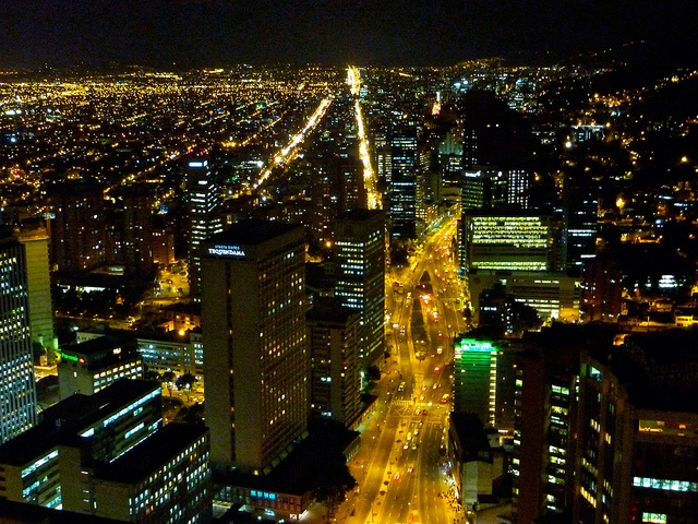 Bogotá by night. Visit our website: http://www.going2colombia.com/
