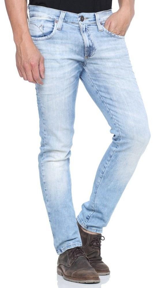 calça jeans masculina slim lycra skinny moda jovem homem d+