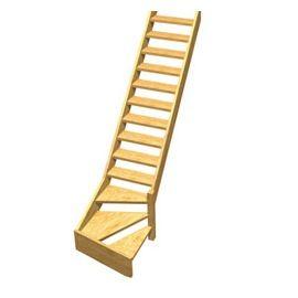 Les 44 meilleures images propos de travaux et bricolage sur pinterest po - Escalier bois droit pas cher ...