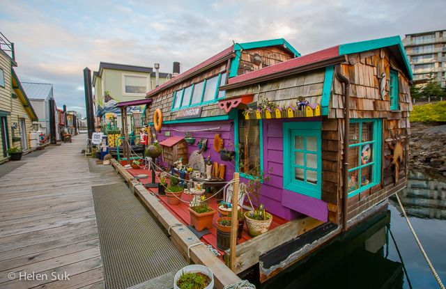 The float homes at Fisherman's Wharf are decorated with a whimsical flair. Click to find out what else to see and do in Victoria, BC.