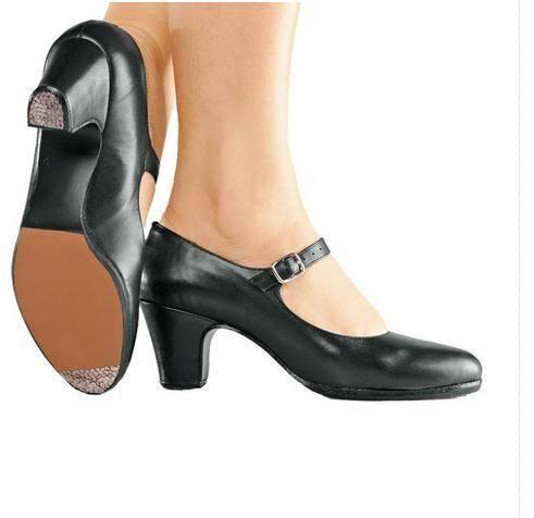 "So Danca FL12 2"" Flamenco Shoe - Adult"