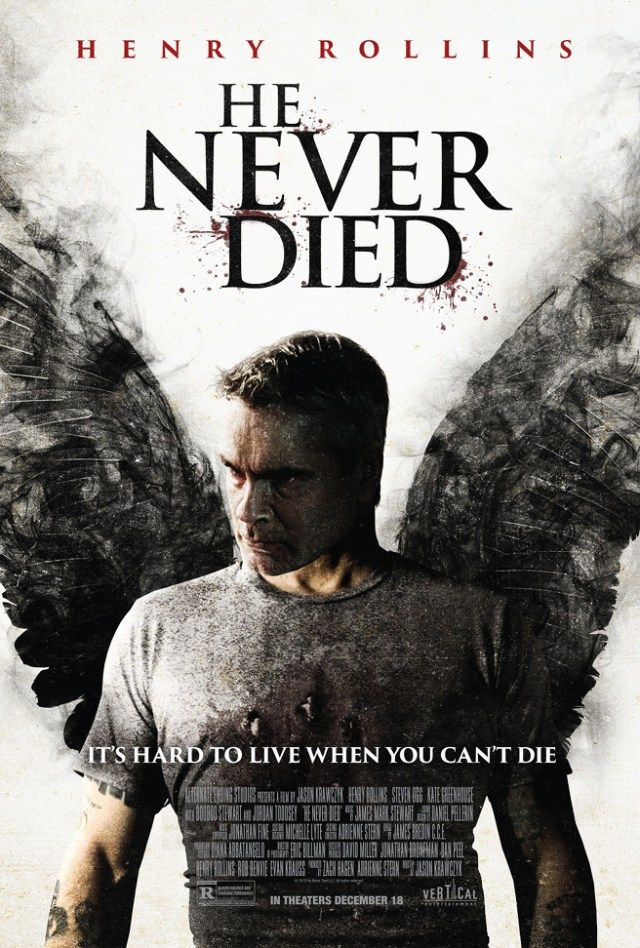 Henry Rollins Cannibal Film He Never Died Gets New Poster - Dread Central