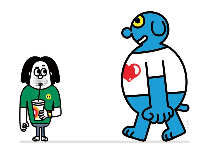 Dume - Tiphaine-illustration #characterdesign #milkshake #illustration
