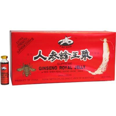 Tai Chi Ginseng Royal Jelly (10ml x 30btls) 2000mg - InterTradeMart.com