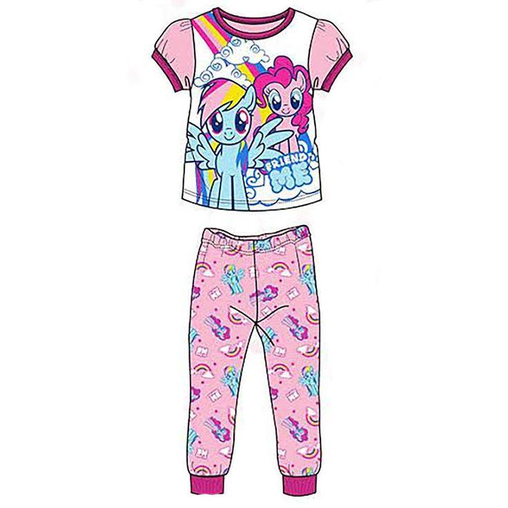 My Little Pony Girls' 2-Piece Pajama Set [Size 6X]