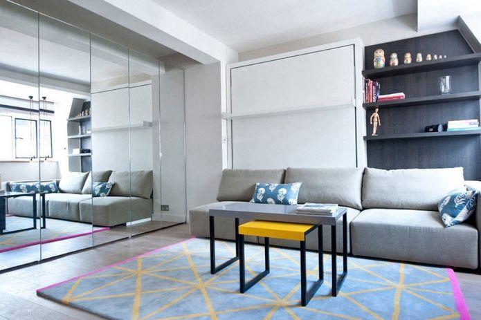Лондонская квартира площадью 25 кв. метров