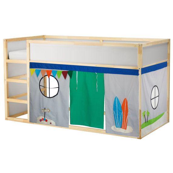 Surf Shack Playhouse // Bed playhouse // Beach by CreativePlayShop