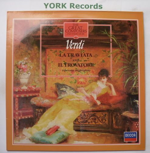 1970 412 832 1 Verdi La Traviata IL Trovatore Excellent Condition LP Record | eBay