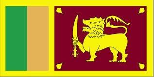 The Sri Lankan Flag.