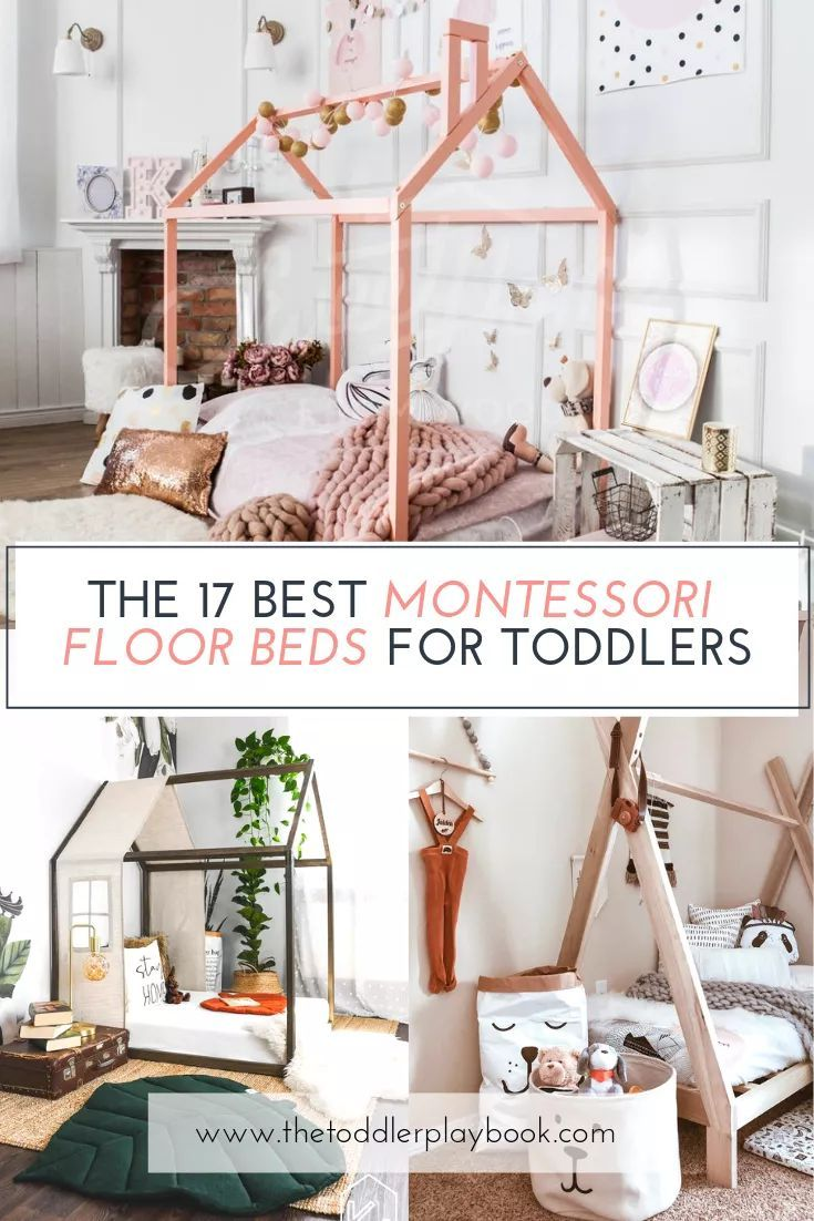 The Best Montessori Floor Beds For Toddlers Toddler Floor Bed