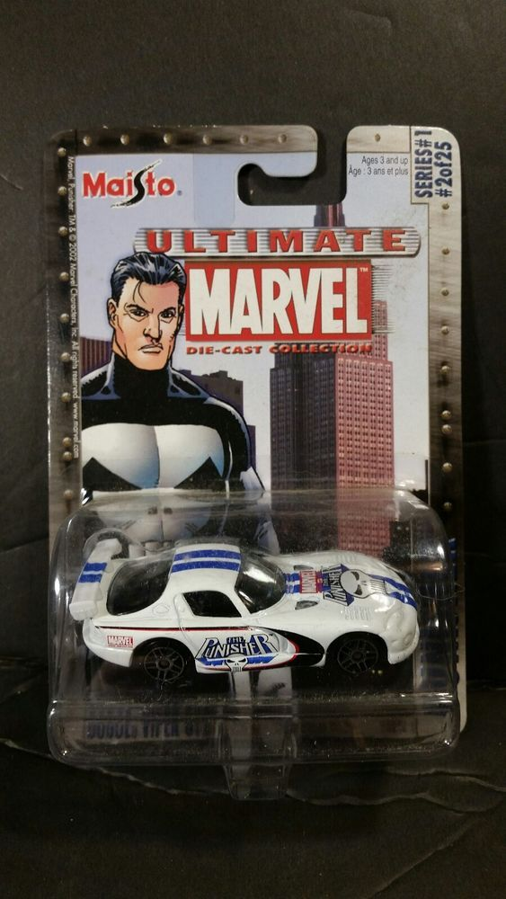 NIB MAISTO ULTIMATE MARVEL DIE-CAST COLLECTION THE PUNISHER