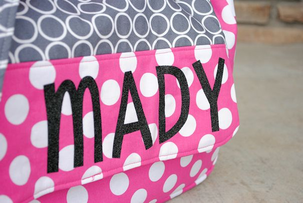 How to Make Personalized Kids Messenger Bags