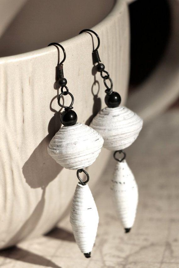 Paper bead ideas More