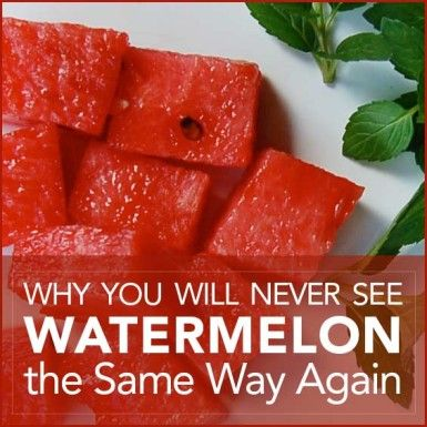 Its a summer cookouts and picnics, but there's more to discover about watermelon than you might think! Here's our round-up of five reasons why you'll never see watermelon the same way ever again.