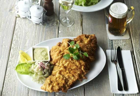 Germany's world-famous bier festival kicks off in Munich on September 19 but you don't have to go all the way to Bavaria to be part of the party. Set up your own tent at home, source whatever Munich beers you can find, and cook up some of these dishes from Löwenbräu Keller, Bavarian Bier Café and a few other ninemsn Food favourites. Prost!