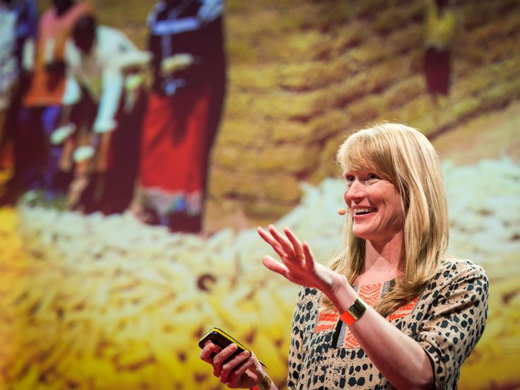 "❛Rose Goslinga❜ TEDSalon Berlin 2014: Crop insurance, an idea worth seeding • ""Across sub-Saharan Africa, small farmers are the bedrock of national and regional economies—unless the weather proves unpredictable and their crops fail. The solution is insurance, at a vast, continental scale, and at a very low, affordable cost. Rose Goslinga, a citizen of Kenya, and her team pioneered an unconventional way to give farmers whose crops fail early a second chance at a growing season."""