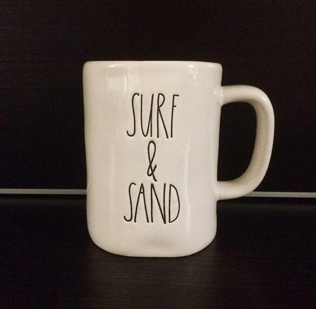 rae dunn magenta surf sand cup mug rae dunn dunn cermaics rae dunn