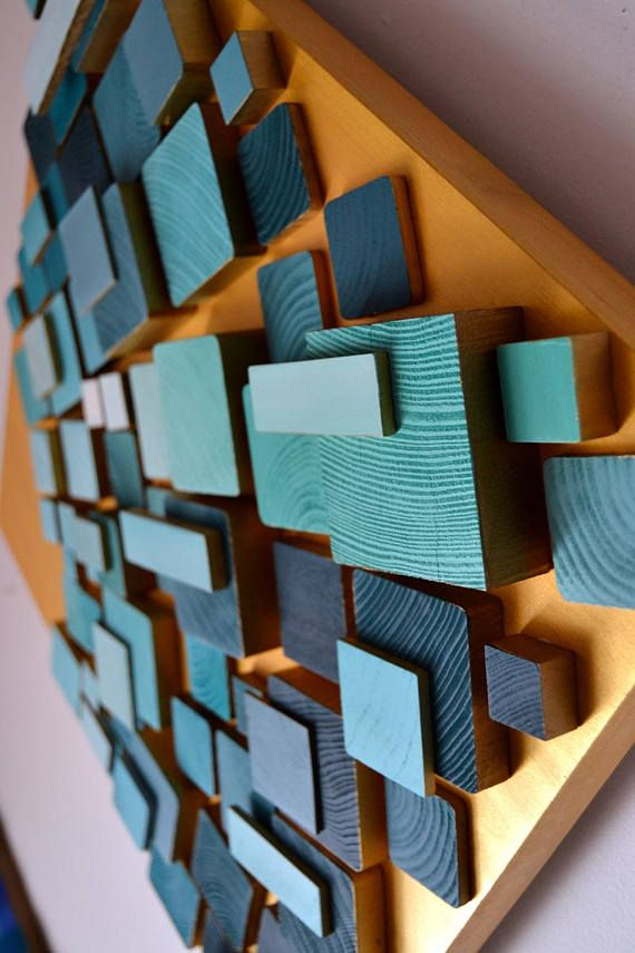 Wood Wall Art With Led 3d Wall Lamp Wooden Art 3d Wooden