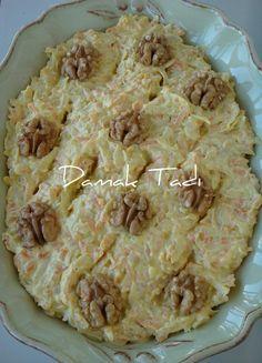 Havuçlu Kereviz Salatası- Carrot and Celery root Salad....