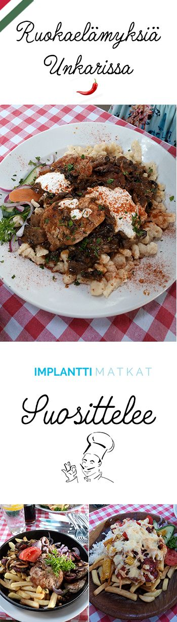 Toinen suosikeistani on tunnelmallinen pienravintola Óbudassa joka herättää 80-luvun nostalgiaa. Ravintolan terassi tarjoaa  kesäiltaisin myös elävää musiikkia. Kaikki ruoan ainekset ovat tuoreita, pakasteita ei käytetä ja kyllä sen maistaa.  Ravintolan osoite: 1034 Budapest, Bécsi út 103. Implanttimatkat suosittelee - #ravintolat #budapest #ruoka #ruokamatkailu