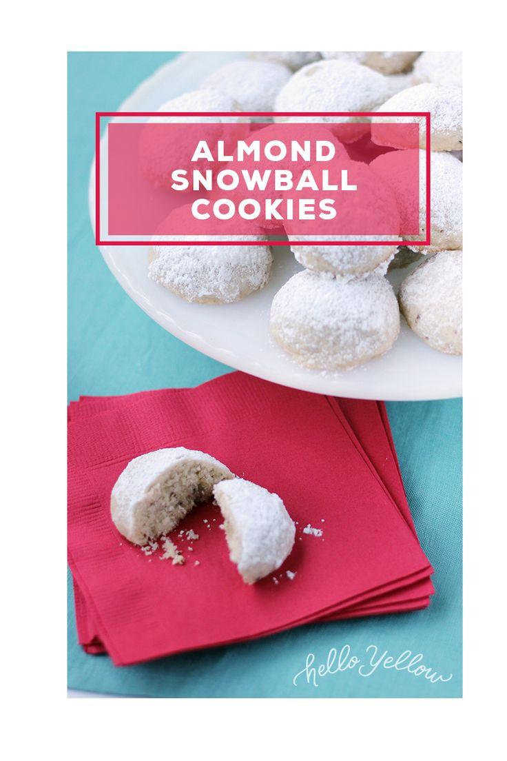 Easy Almond Snowball Cookies #LeonsHelloHoliday