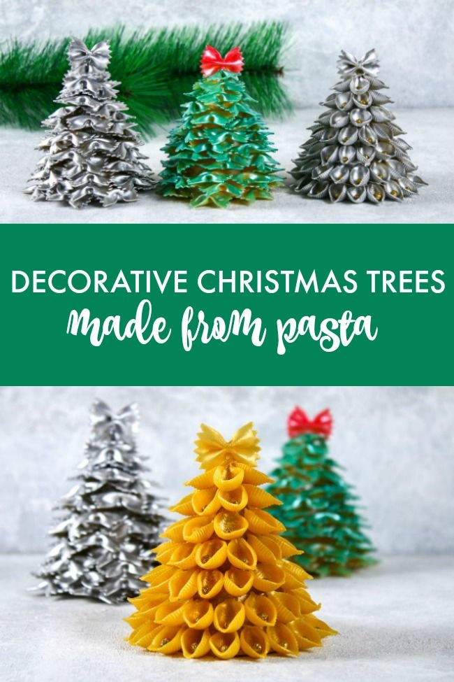 Pasta Christmas Tree Craft Tutorial Creative Cynchronicity Christmas Craft Projects Christmas Tree Crafts Fun Christmas Crafts