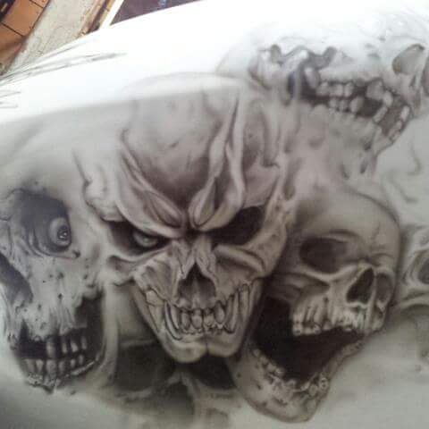 My art work Drawing an Airbrush on harleydavidson ハーレーのフェアリングにスカル みんなスカル好きだねぇ #artoftheday #art #drawing #harleydavidson #worldofart #arts_gallery #instamoto #photooftheday #artinstagram #cool #motorcycle #fashion # #instaart #artlover #skull #artistofinstagram #artistic #instagood #instaartist #artmagzz #wip #arty #アート#エアブラシ #エアブラシアート #ハーレーダビッドソン #スカル #バイク #ファッション