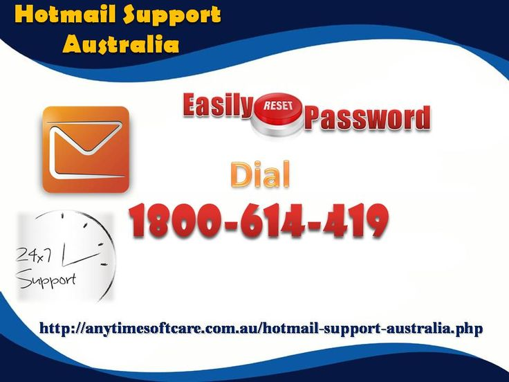 In order to grab awesome experience with Hotmail Account, you must keep it away from hassles with the help of Hotmail Support Australia. Fortunately, you will get in touch with deeply qualified experts at toll-free no. 1-800-614-419 who value your time and put all efforts to eliminate your problems in no time. You can take the assistance at whatever time as they are accessible 24*7. To grab more amazing help on Hotmail, visit our website…