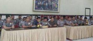Tim Wasrik Tahap I Polda Bali Cek Produk Perencanaan Polresta Denpasar