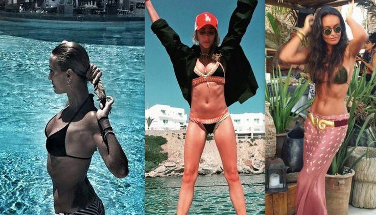 Yazın gelmesiyle birlikte, ünlü isimler de birer birer tatil fotoğraflarını sosyal medya hesaplarından paylaşmaya başladı. İşte ünlü isimler ve bikinili halleri. Artık hangisi en güzel bikini vücuduna sahip siz karar verin…