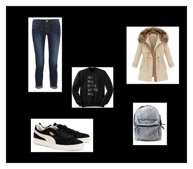 """""""http://www.polyvore.com/cgi/group.join?id=198631."""" by emina-h15 ❤ liked on Polyvore featuring Frame Denim and Puma"""