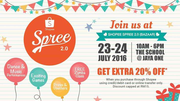 23-24 Jul 2016: The School Jaya One Shopee Spree 2.0 Bazaar