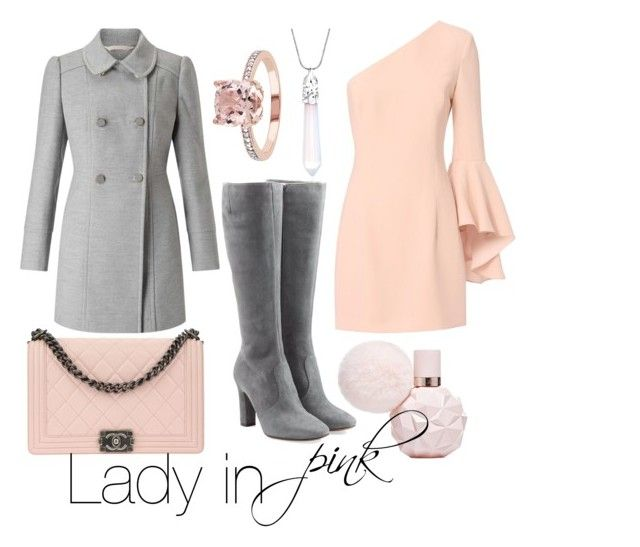 """""""Lady in pink"""" by inauniqe on Polyvore featuring Exclusive for Intermix, L'Autre Chose, Miss Selfridge and Chanel"""