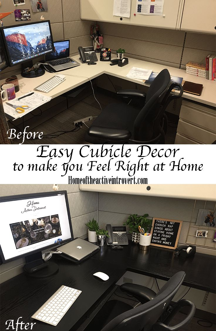 Cubicle Décor Ideas To Make Your Home Office Pop: Best 25+ Office Cubicle Decorations Ideas On Pinterest