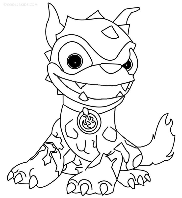 20 best images about Printables *4 skylanders color pages ...