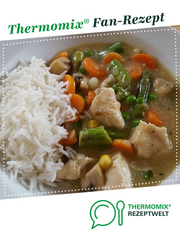 thermomix hühnerfrikassee