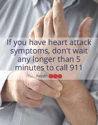Click to find out what our doctors say are the warning signs of a heart attack!
