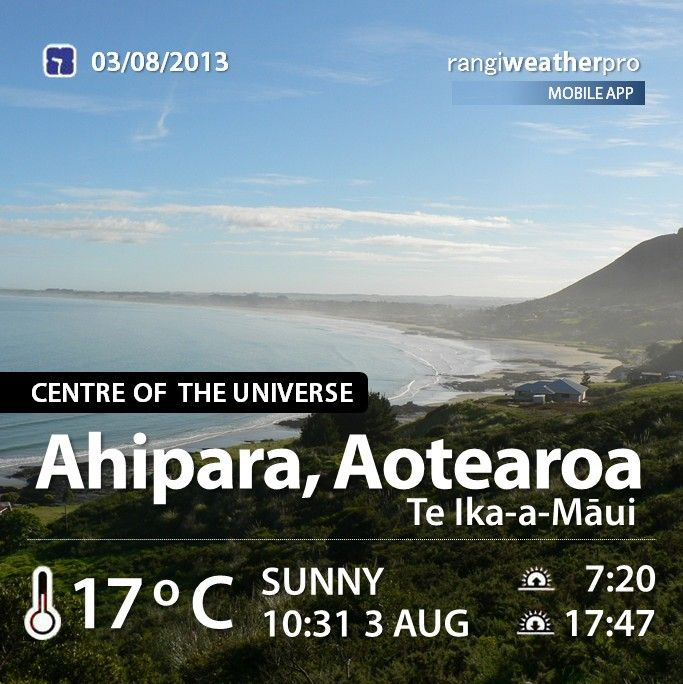 Never rains in Ahipara
