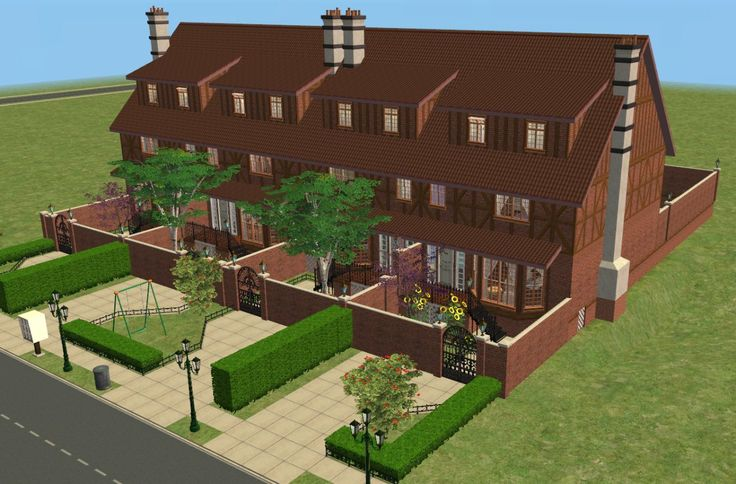 Mod The Sims - English Garden Apartments