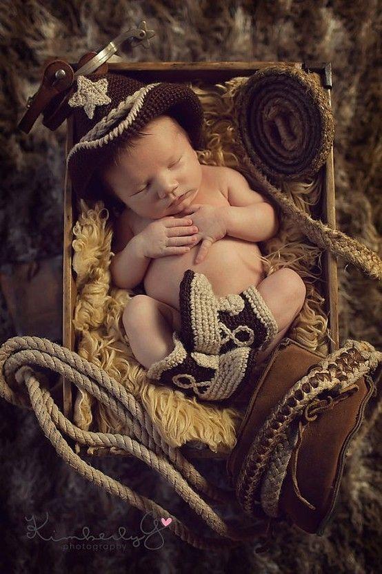 Newborn Western Photo Ideas