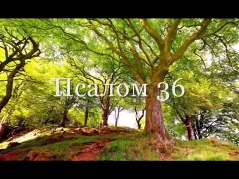 36 Псалом, вдохновляющий. Псалом Давида